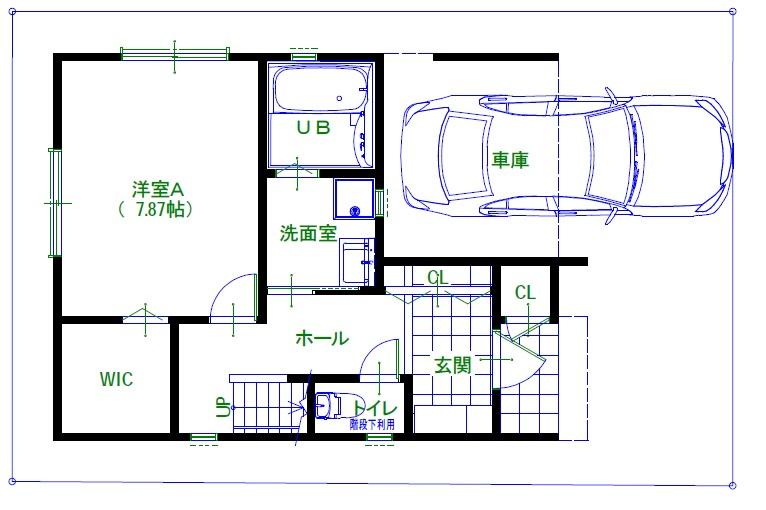 久寿川町1階