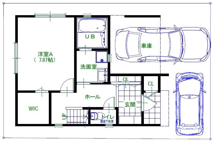 久寿川町1階(車2台)